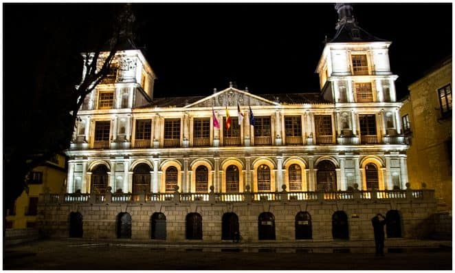 Toledo Spain at Night