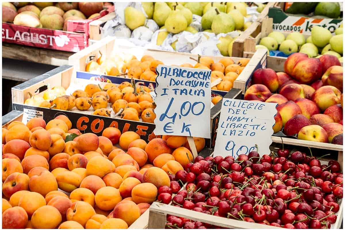 Rome Food Tour Market Trastevere