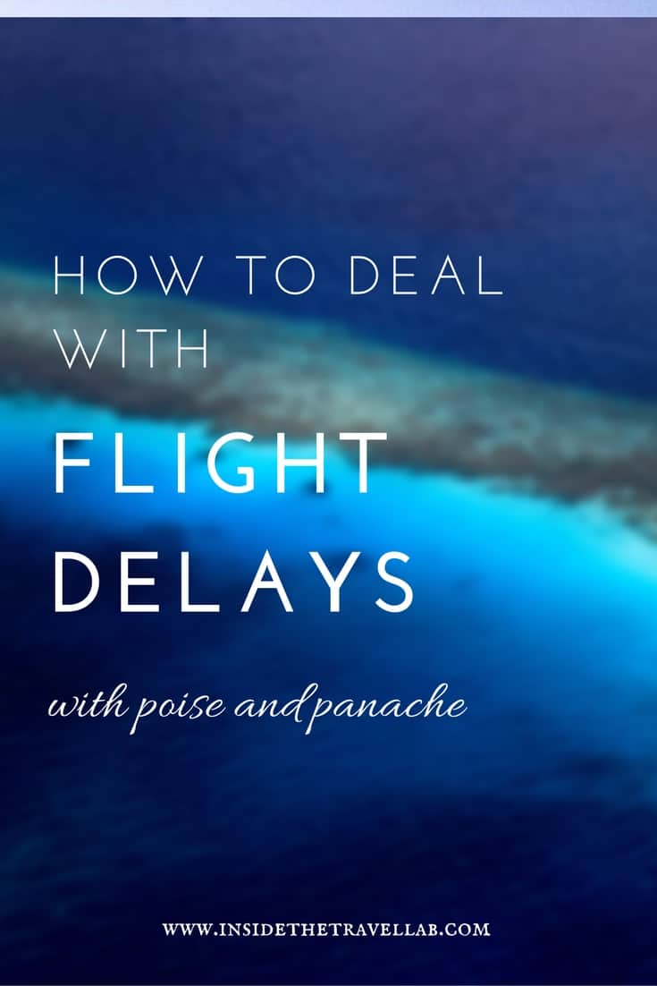 Travel tips - how to deal with flight delays and cancellations
