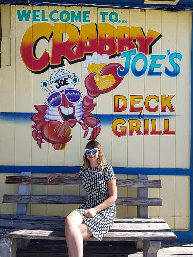 Unusual things to do in Daytona - eat seafood snacks