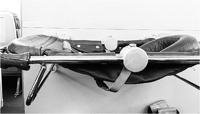 Sky cot for babies on Virgin Atlantic