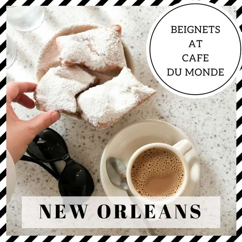 Beignets at Cafe du Monde New Orleans