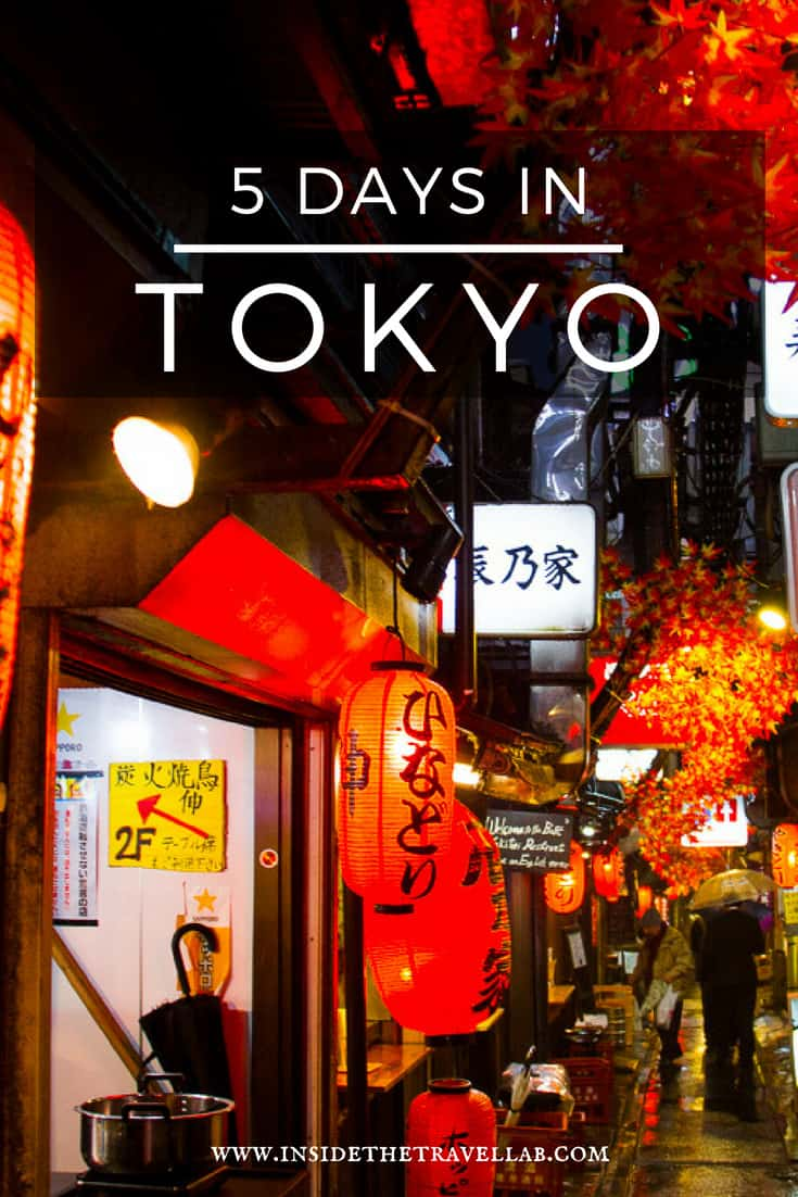 5 Days in Tokyo - This guide to the best things to do in Tokyo includes hand-picked recommendations for what to do in Tokyo in 5 days as well as suggestions for longer and shorter periods of time. Save time - pin now and read later! #Tokyo #Japan