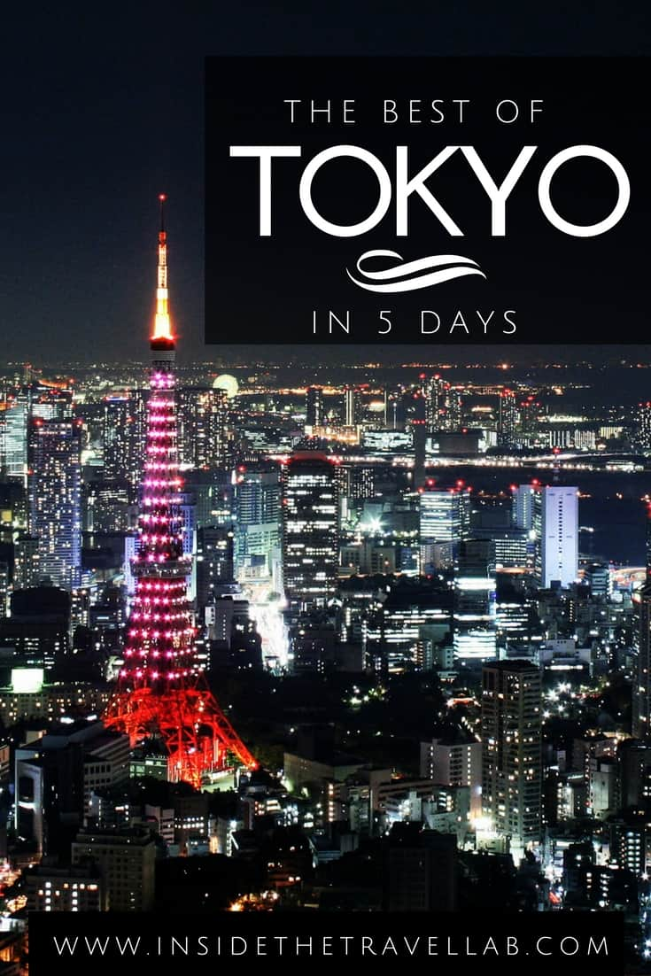 What to do in Tokyo in 5 days - exploring secret places in Tokyo and classic sights in Tokyo, bookmark this itinerary for travle to Japan. From @insidetravellab