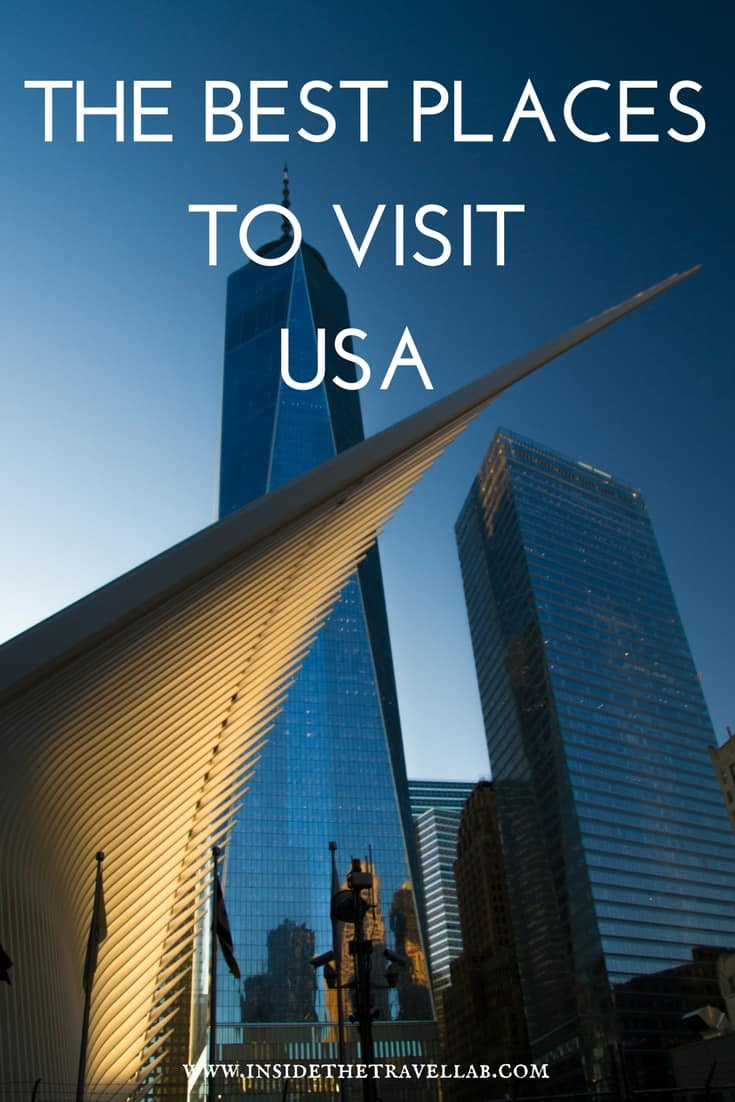 The Best Places to Visit USA - From top cities to wild escapes here is a hand-picked guide to the best places to visit in America