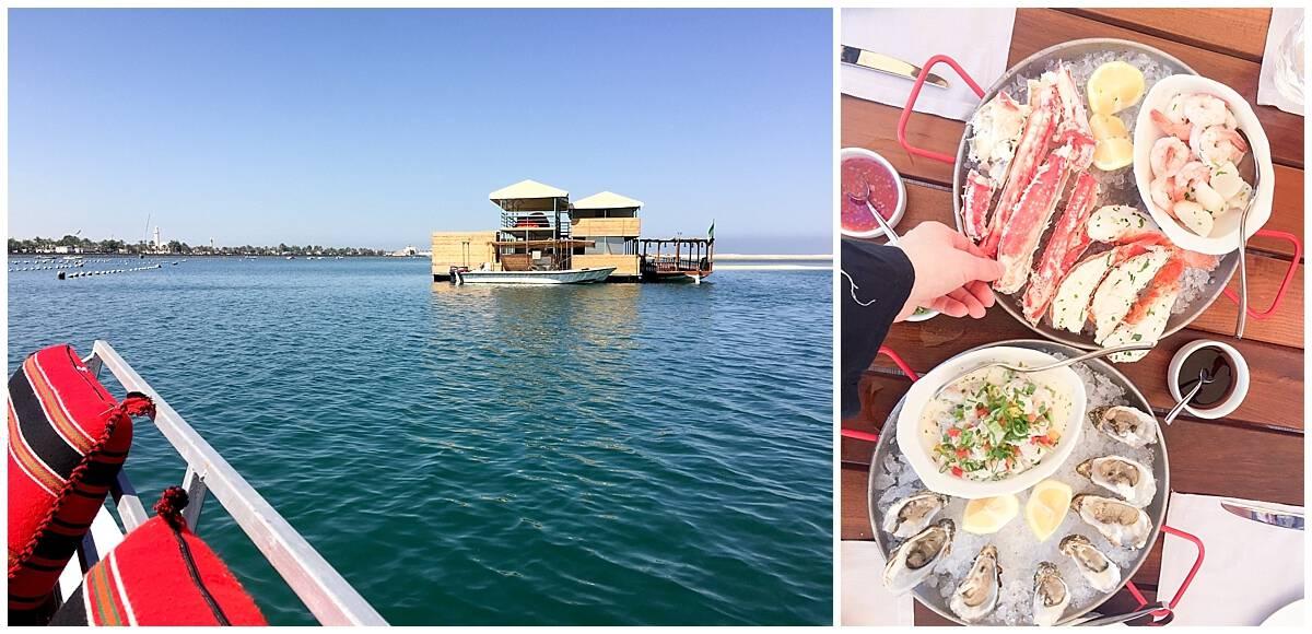Seafood and the coast in Ras Al Khaimah