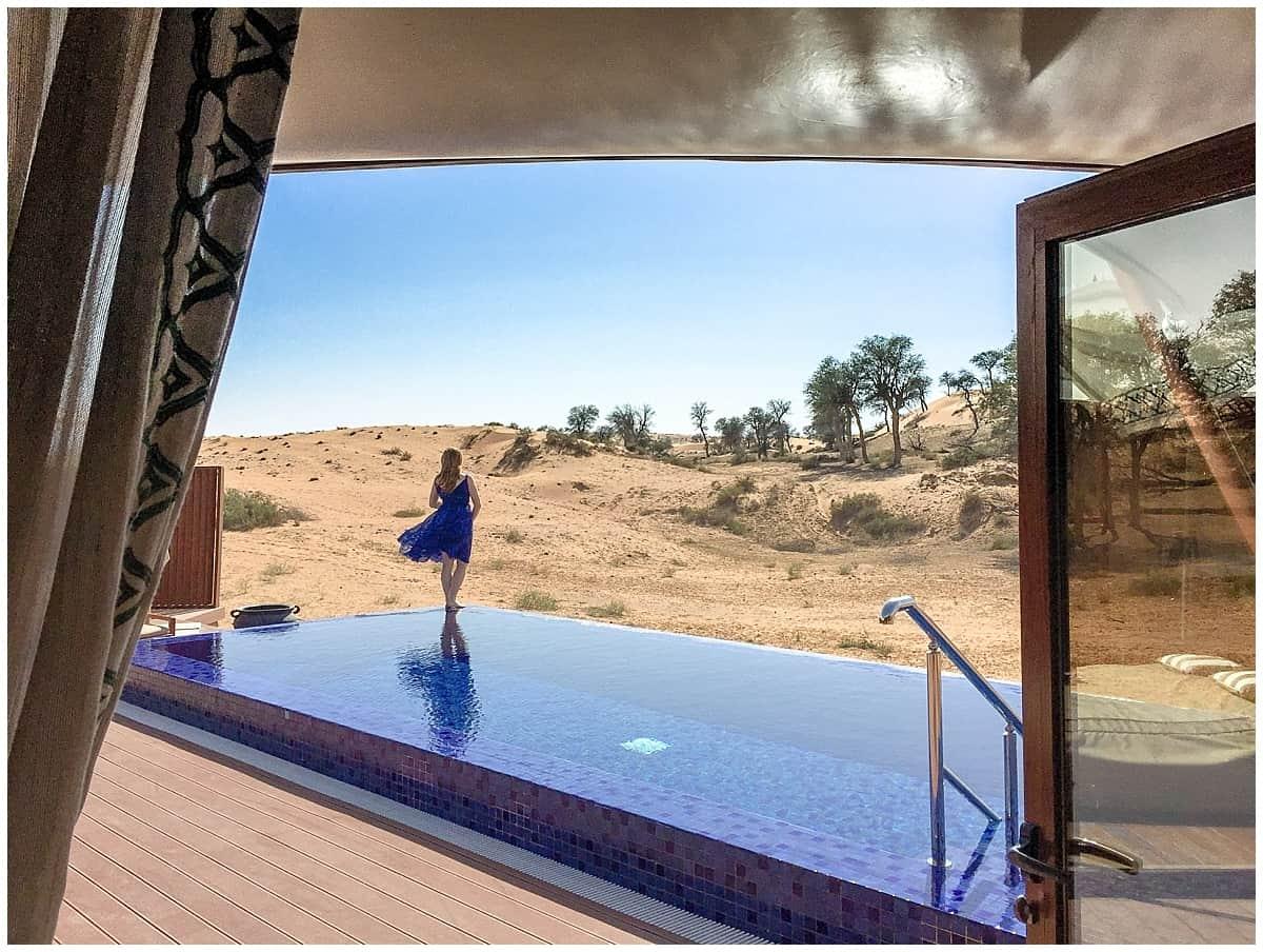 Ultimate desert glamping luxury travel ritz carlton al wadi
