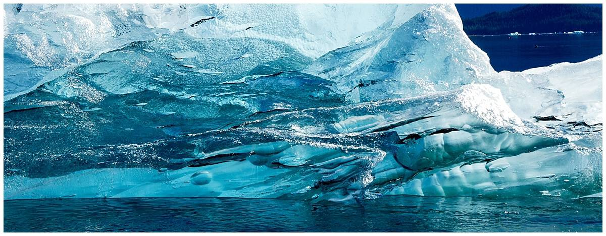 Ice in Alaska's Inside Passage