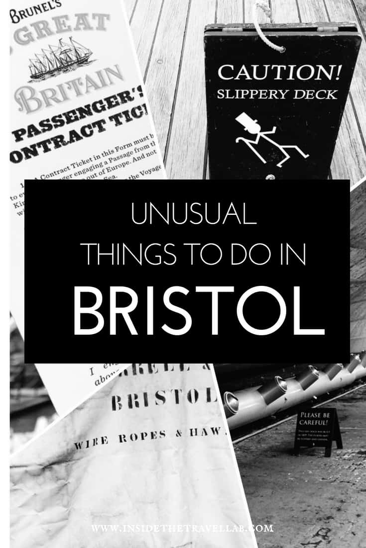 Unusual things to do in Bristol - as well as useful travel tips on where to stay in Bristol, where to eat in Bristol and how to travel to Bristol with a toddler. It's a sassy, fun city near London with plenty of arts and science. Think Concorde, the SS Great Britain, Oscar-winners Wallace and Gromit, subversive Banksy and more. Enjoy! #Bristol #Travel #England #visitBristol