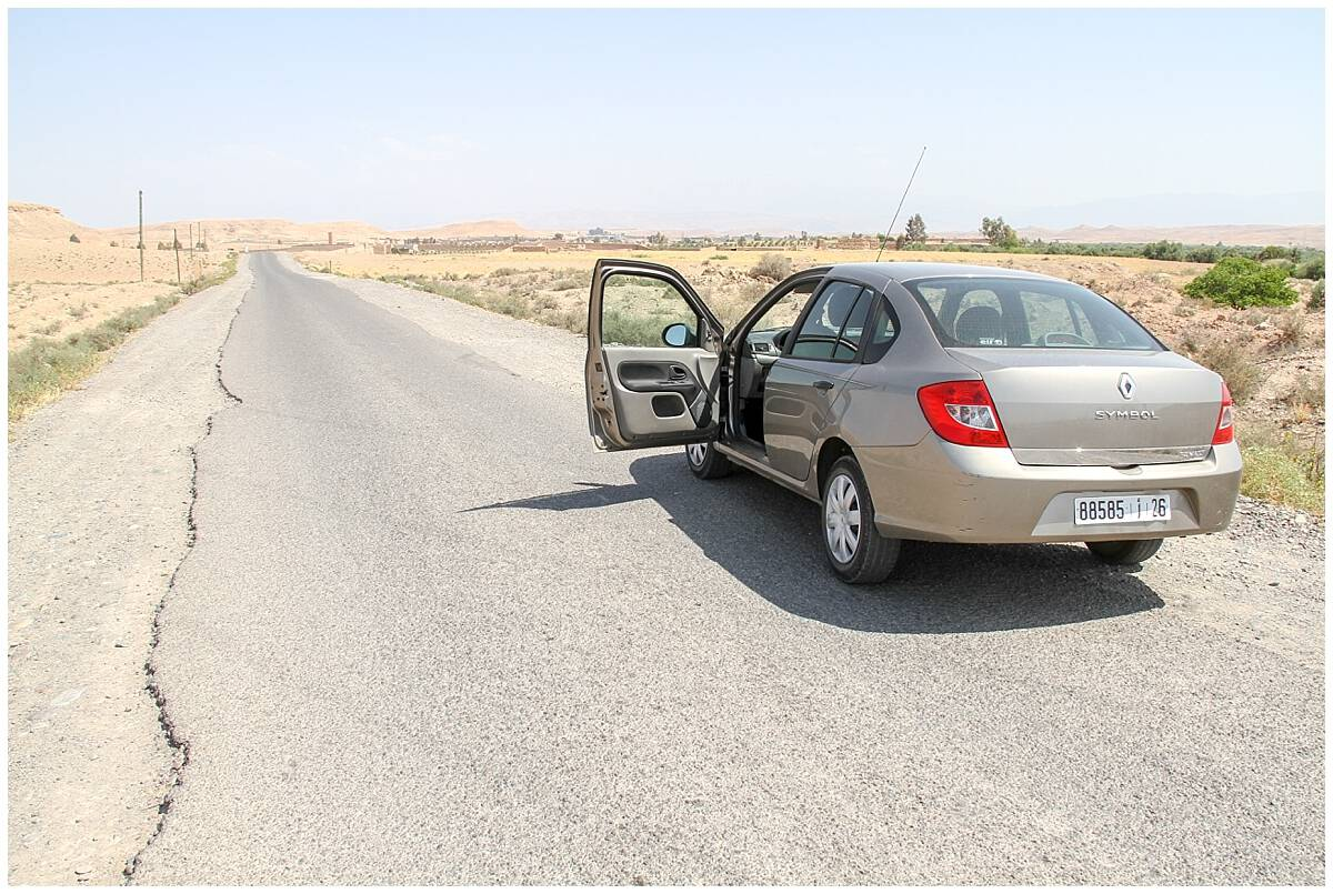 Travel tips for driving in Morocco