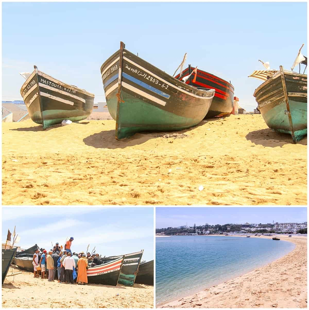 Oalidia Saltwater Lagoon in Morocco