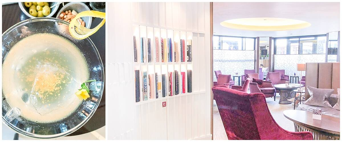 Gold cocktails and private libraries at One Aldwych luxury hotel London near Covent Garden