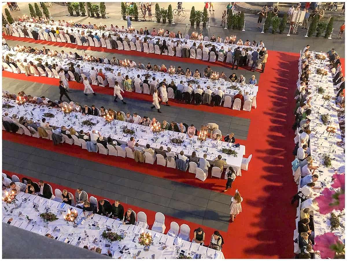 Graz Restaurants - The Collaborative Long table in Graz