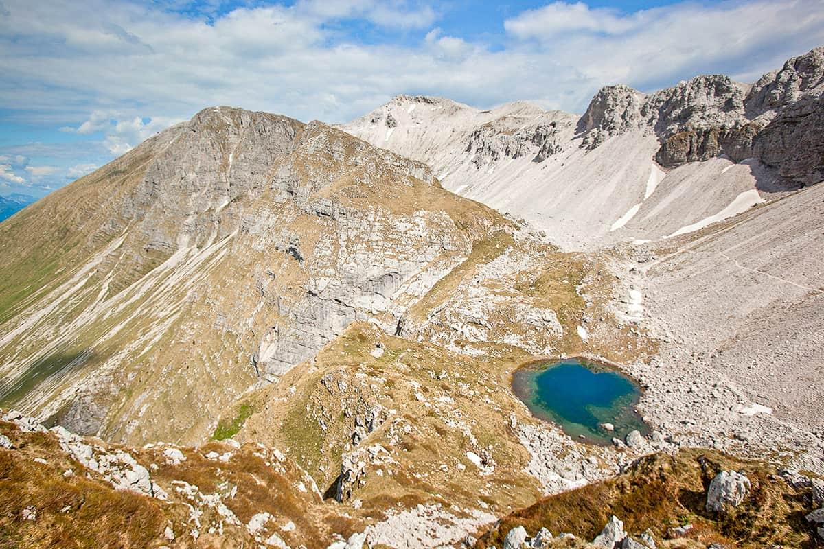 6. Seven Triglav Lakes, hiking in Slovenia. © Ales Cesen
