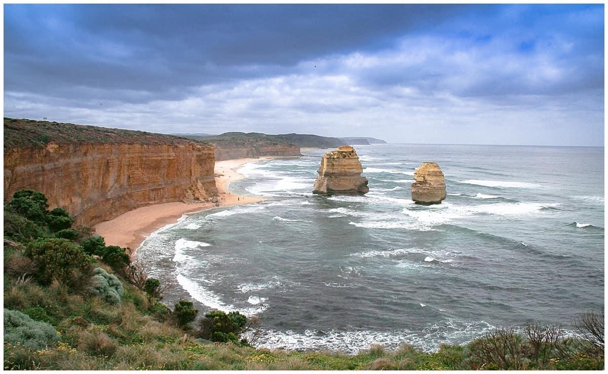 Views on the Great Ocean Walk in Australia