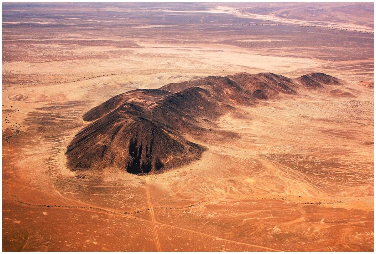THe Namib Desert from the Air