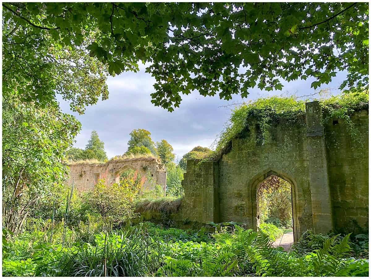 ng ruins at Sudeley Castle
