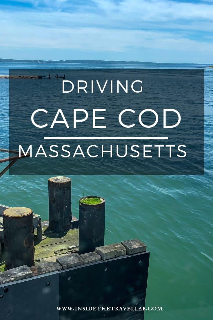 Driving Cape Cod Massachusetts