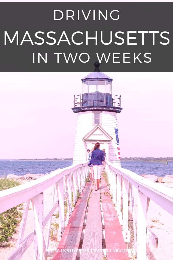 Driving Massachusetts two week itinerary via @insidetravellab