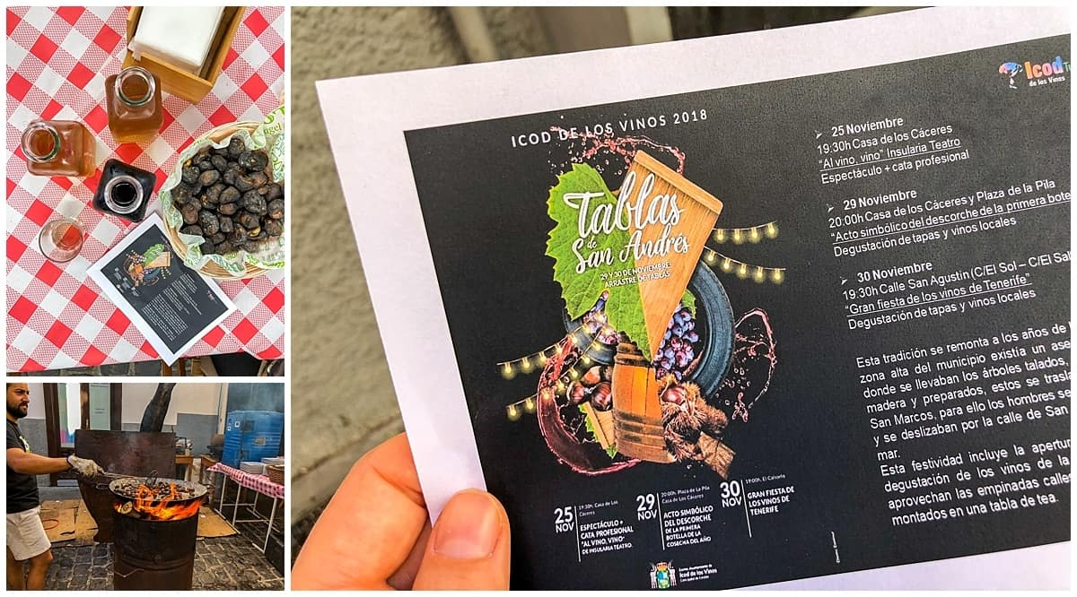 Unusual things to do in Tenerife, Festival Icod de los Vinos San Andre
