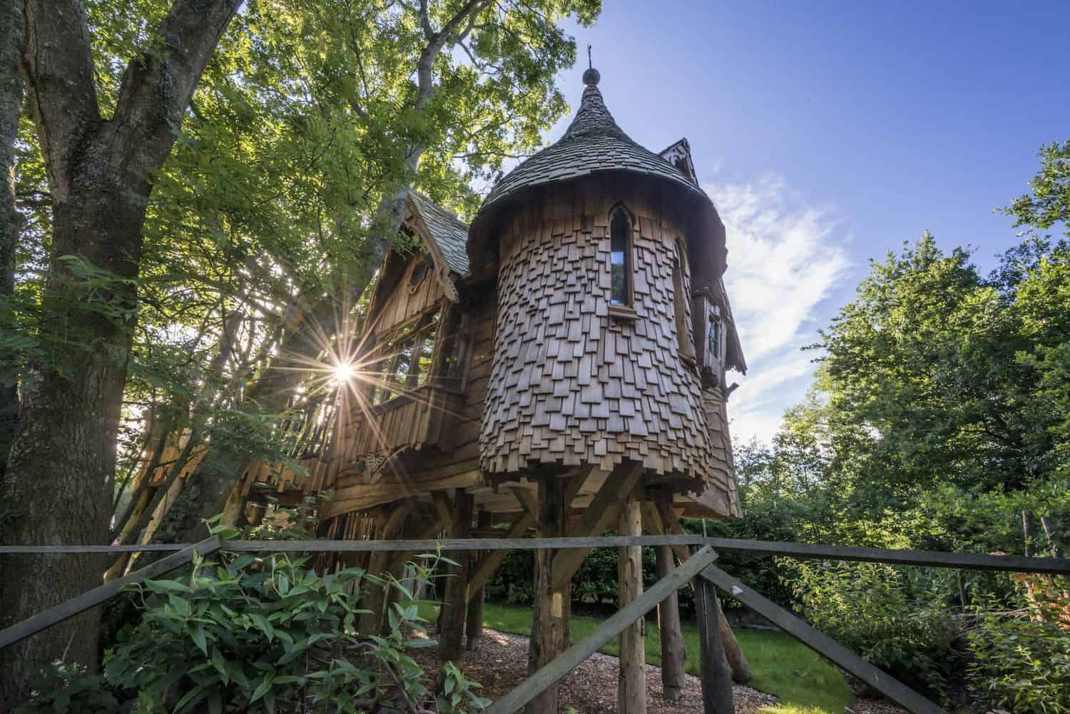 Treehouse- Glampingly, Unique accommodation, glamping accommodation
