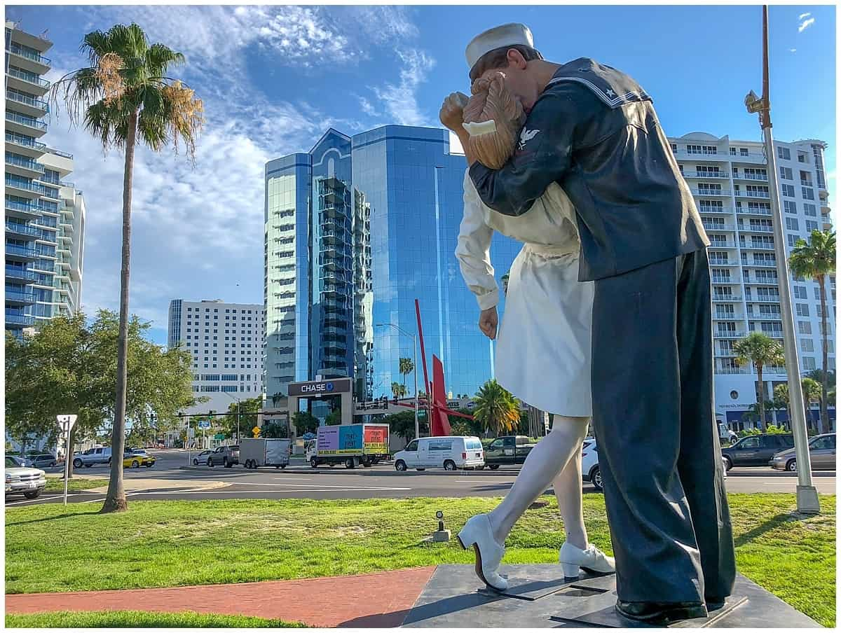 Unusual things to do in Sarasota - Unconditional surrender Sarasota Bay