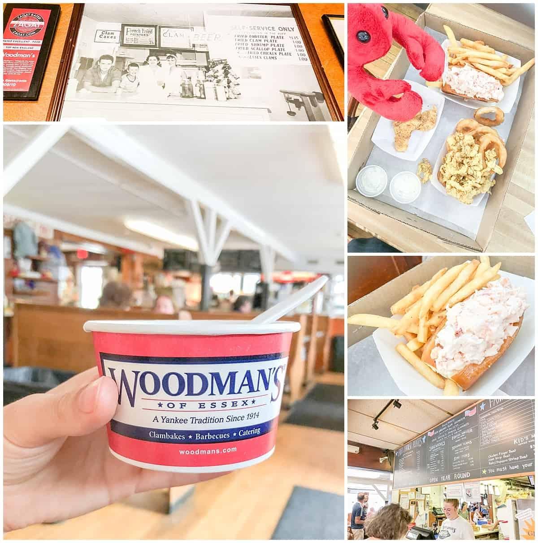 Road trip from Boston - Woodmans Essex Cape Ann Massachusetts