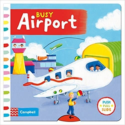 Busy Airport Book Toddler Travel Toy for Plane
