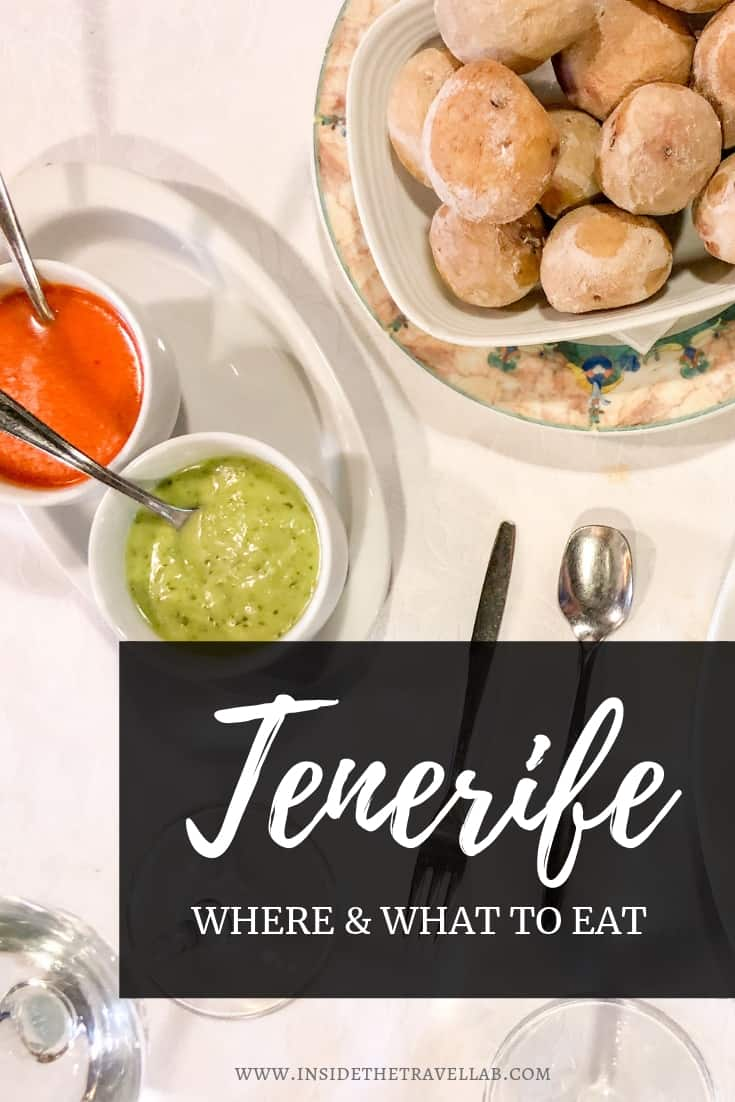 Your guide to food in Tenerife; where and what to eat in Tenerife, including local delicacies, secret recipes and more! #Tenerife #CanaryIslands