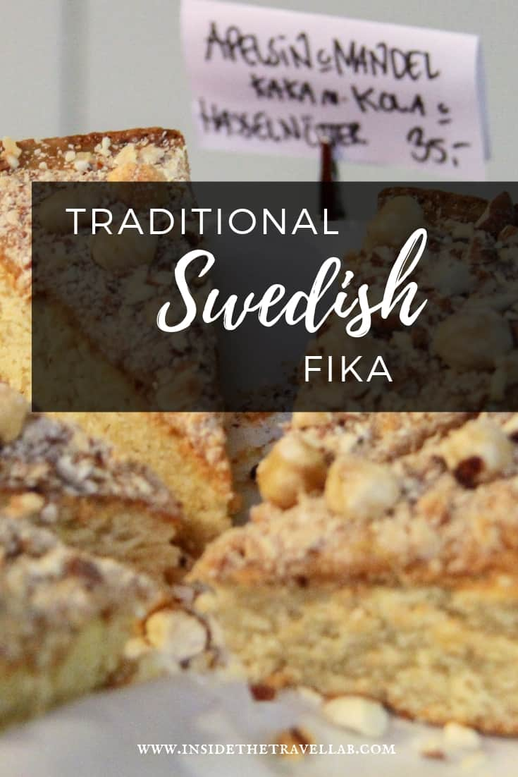What is fika? The gorgeous Swedish tradition of fika explained. How to do it. Where to find it. #fika #sweden #travelsweden #food