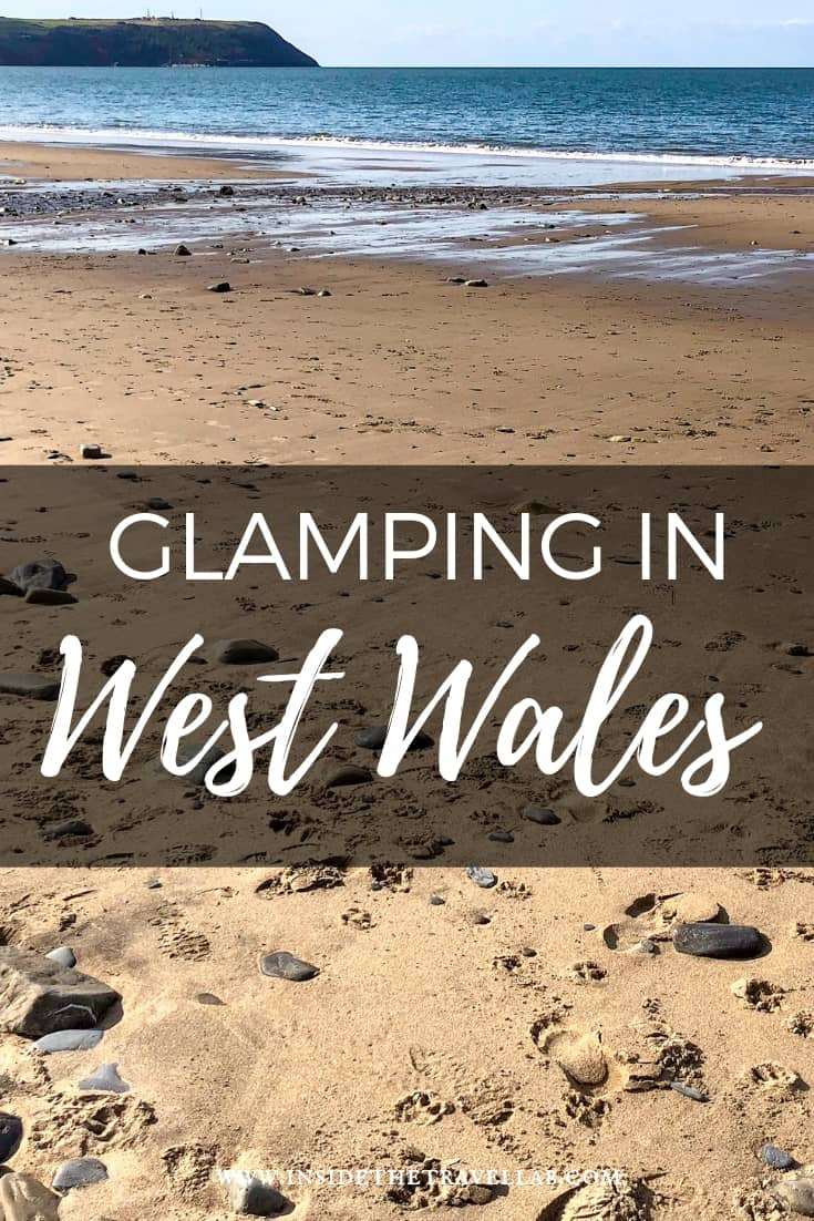 Glamping at Felin Geri in West Wales is a great way to get back to nature, but with luxurious touches. Hello hot tub! #Wales #Glamping #Camping