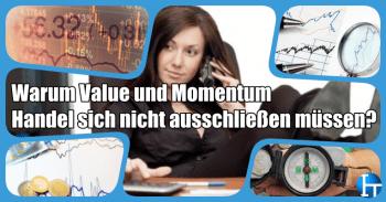 Geldanlage und Strategien – Value und Momentum Handel