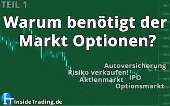 Warum und wofür benötigt der Markt Optionen