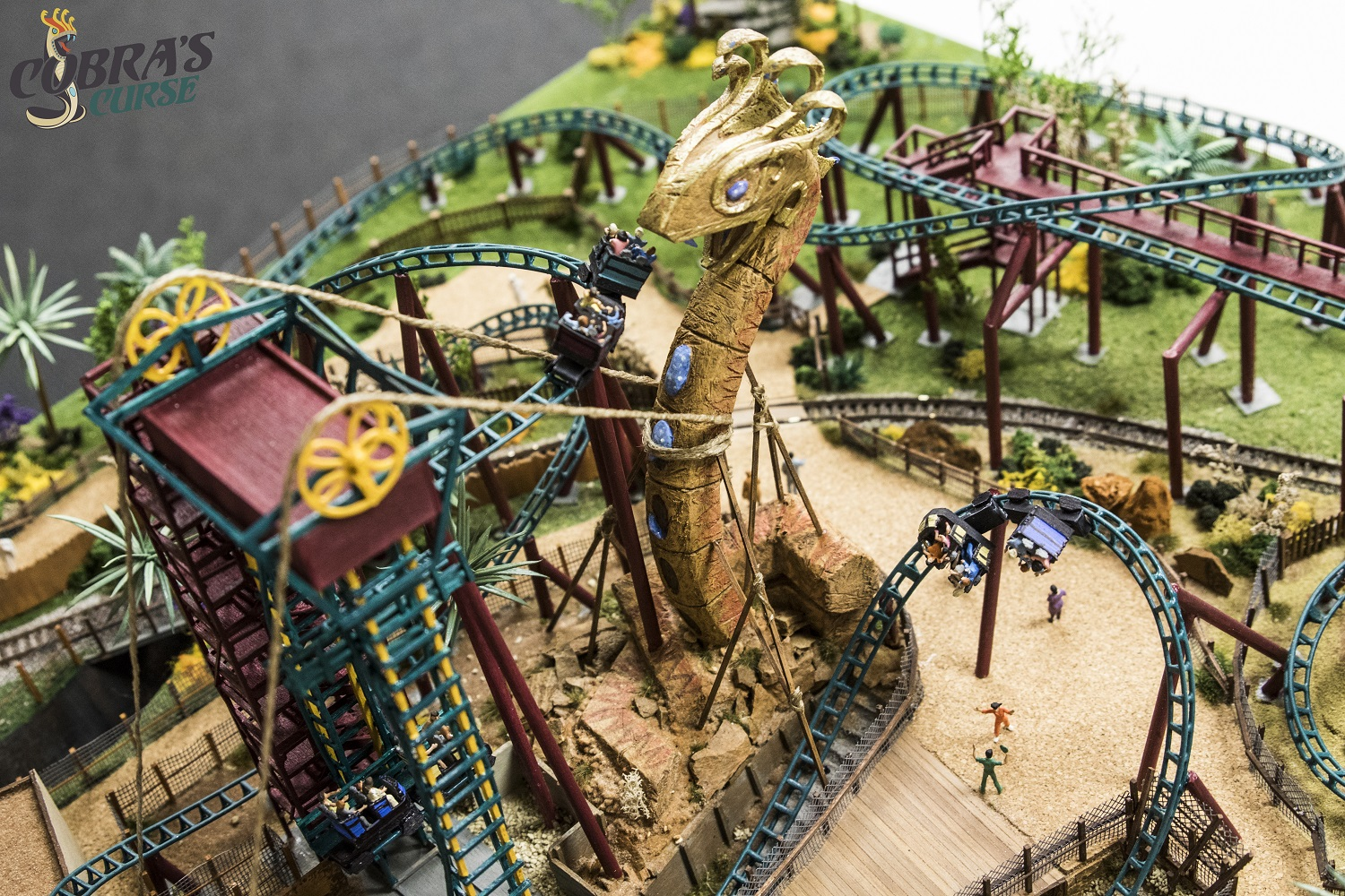 New Details & Model of Cobra\'s Curse Revealed from Busch Gardens ...
