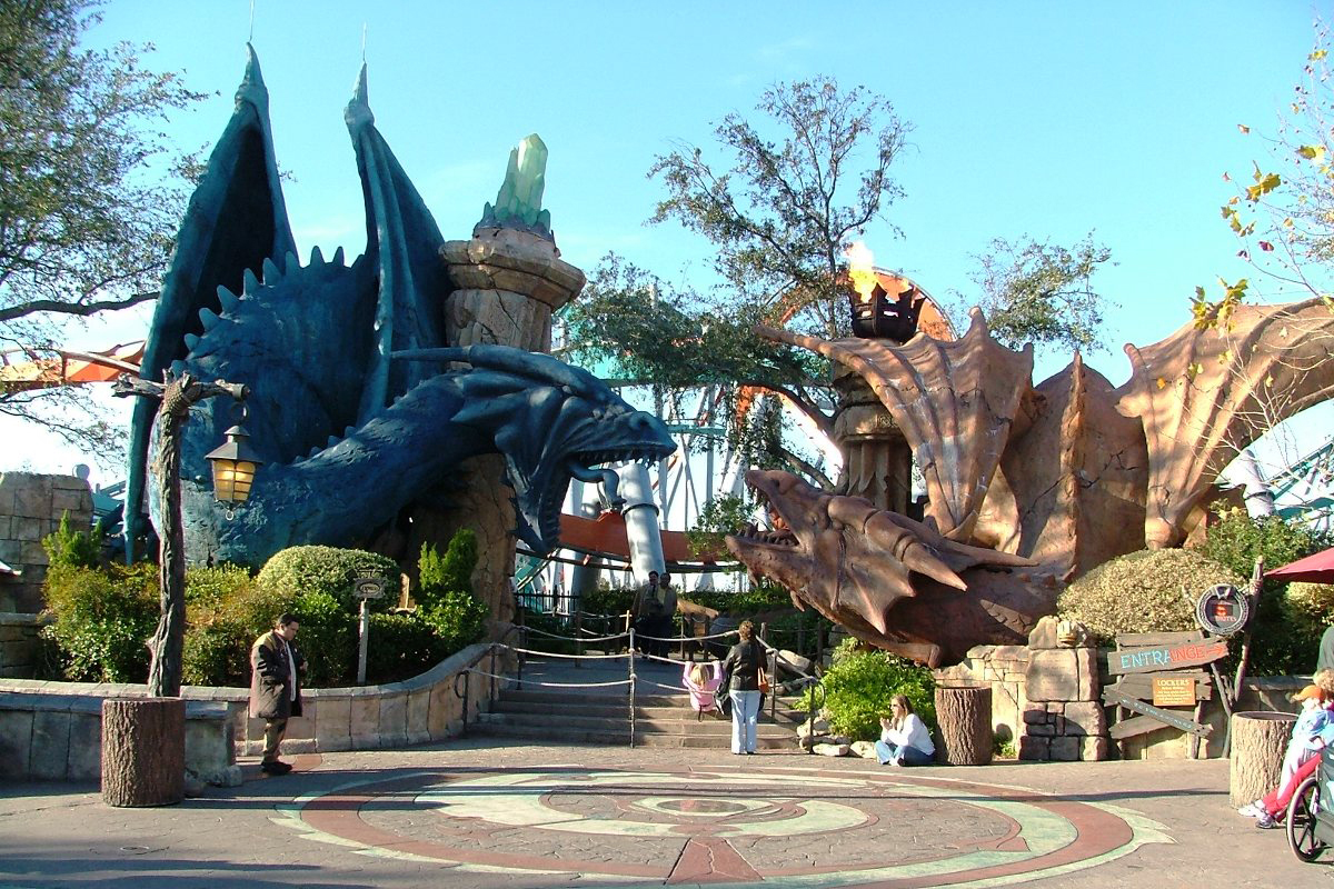 goodbye dueling dragons a