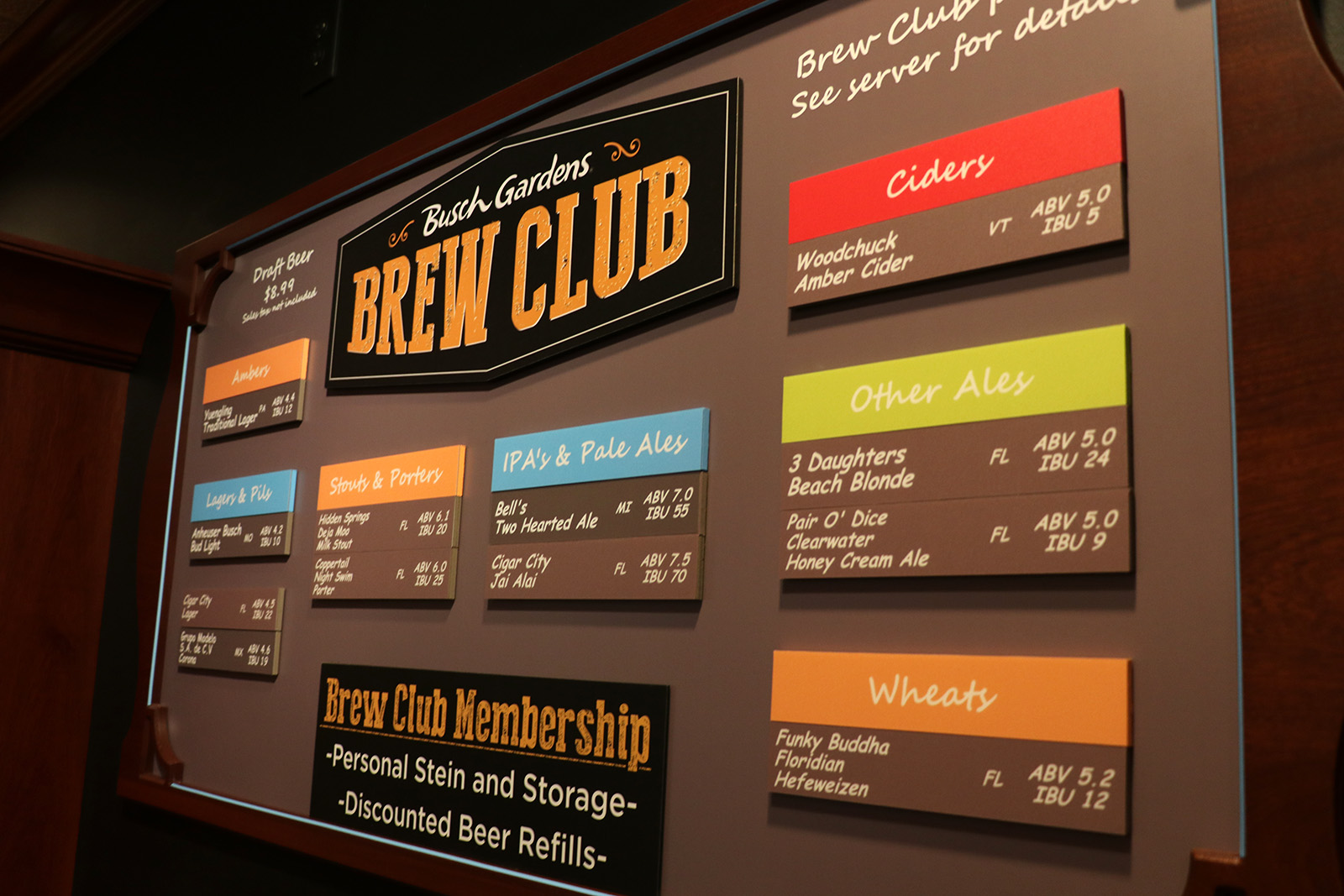 Beer is Back at Busch Gardens Tampa; new Brew Club and Bier Fest ...