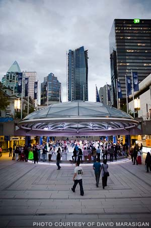 Summer Ballroom Dancing at Robson Square