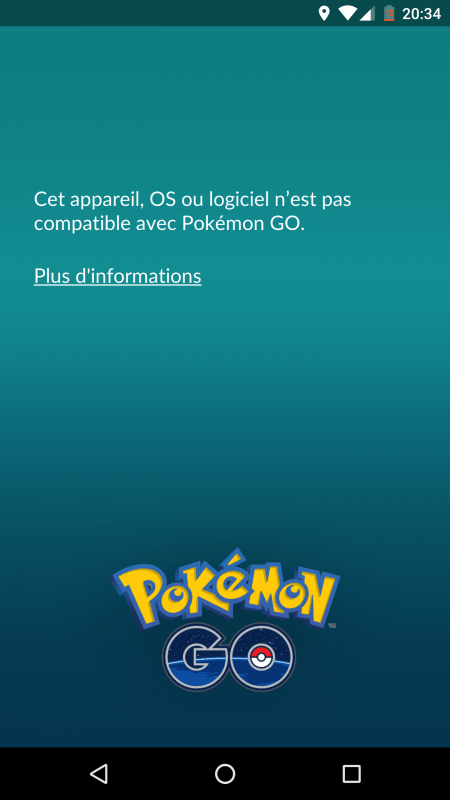 Pokémon go 0.37 rooted device