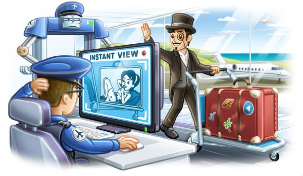 telegram 4.0 instant views