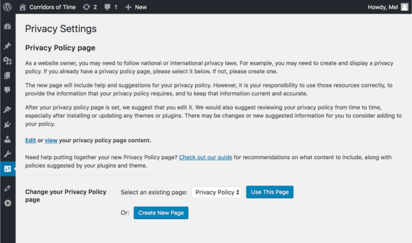 wordpress-4.6.9-privacy-policy-collapsed