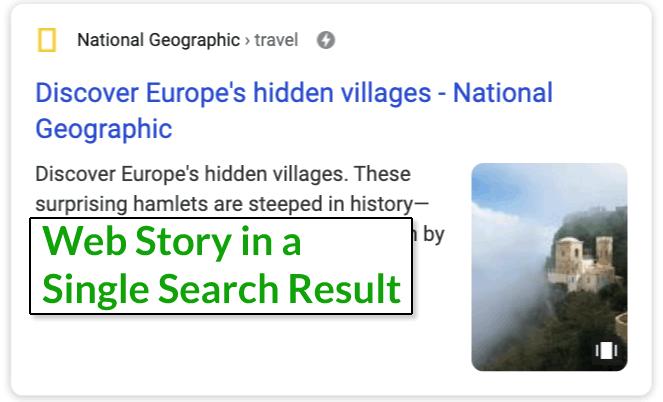 web-stories-visualizzazione-risultato-nella-serp
