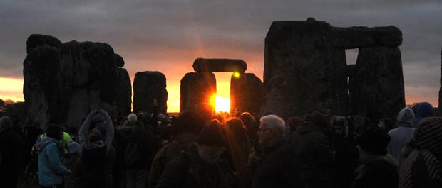 Solstițiul de Iarnă la Stonehenge