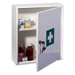Single shelf key locking Medicine Cabinet  Insight Security