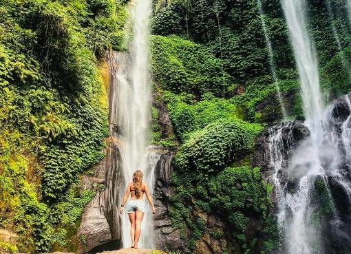 Head North to Aling Aling Waterfall for a Better Insight of Bali