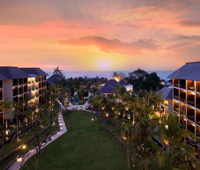The Anvaya Beach Resort Bali: Balinese Elegance on Kuta Beach