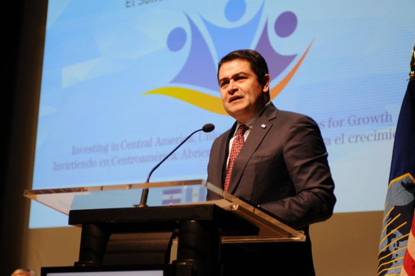 Honduras President Juan Orlando Hernandez
