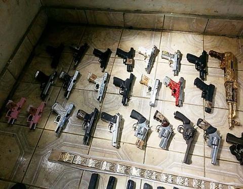 20141003 honduras valle capture weapons