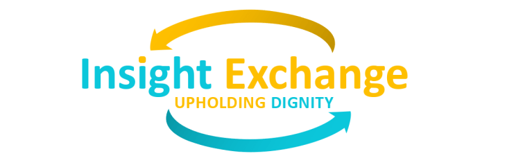 Insight Exchange, upholding dignity logo