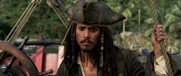Jack Sparrow from Pirates of the Caribbean
