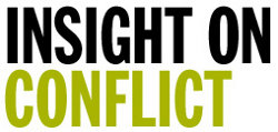 Insight on Conflict is the leading online resource for local peacebuilding and human rights in conflict areas.